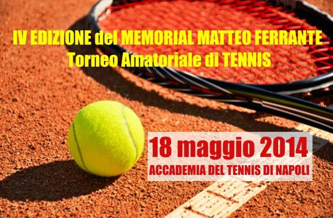IV EDIZIONE del MEMORIAL MATTEO FERRANTE