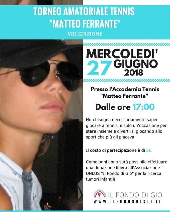 torneo Matteo Ferrante 2018